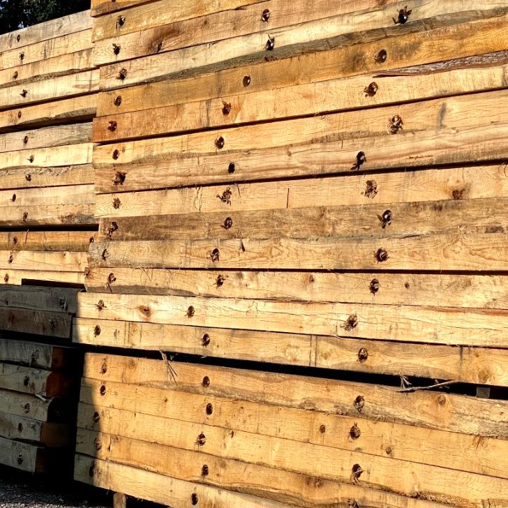 wood timber mats